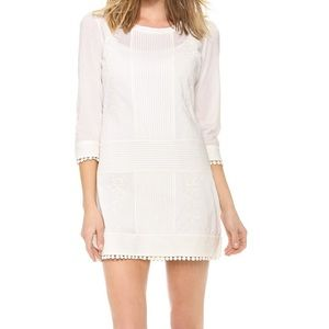 Pam & Gela Courtney Embroidered Cotton Dress/Small